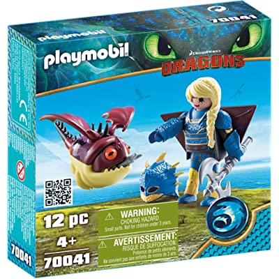 PLAYMOBIL How to Train Your Dragon III Astrid with Hobgobbler: Toys & Games