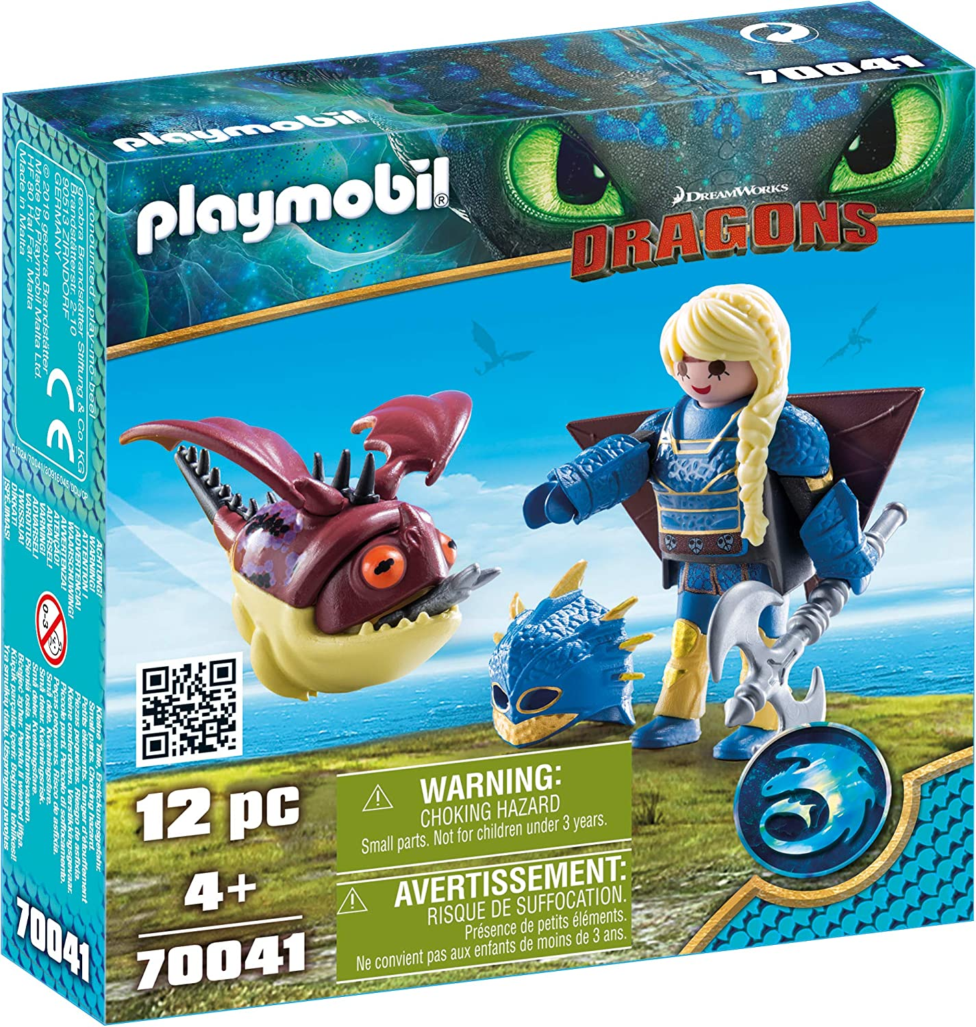 PLAYMOBIL How to Train Your Dragon III Astrid with Hobgobbler