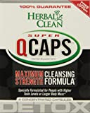 Herbal Clean Super Qcaps Maximum Strength Cleansing Formula Supplement, 4 Count