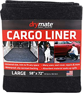 Connected Essentials Tailored Custom Fit Heavy Duty Automotive Carpet Boot Mat Boot Liner for Superb 2002-2008 Black with Black Trim