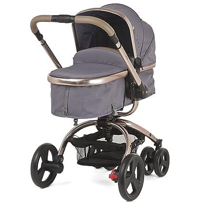 Mothercare – Cochecito de bebé y carrito de bebé (lona), color gris