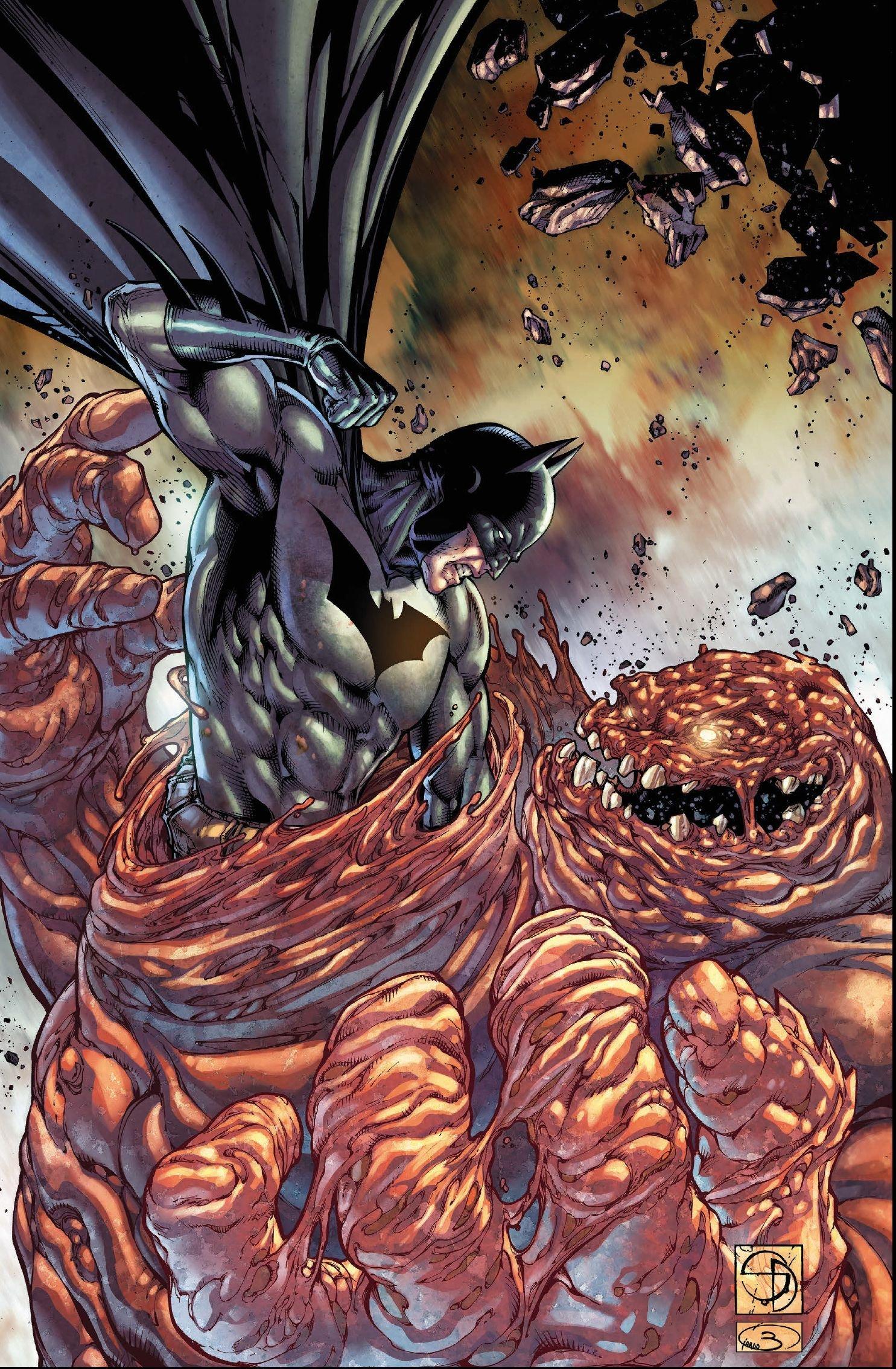Batman Megaband: Bd. 3: Angst über Gotham: Amazon.de: Derek Fridolfs ...