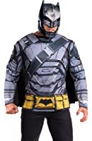 Rubie's Men's Batman v Superman: Dawn of Justice Batman Armored Costume Top