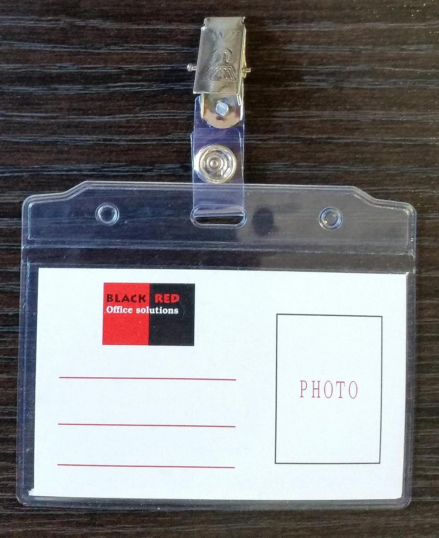100 X Móvil tarjeta identificativa con clip de metal ...