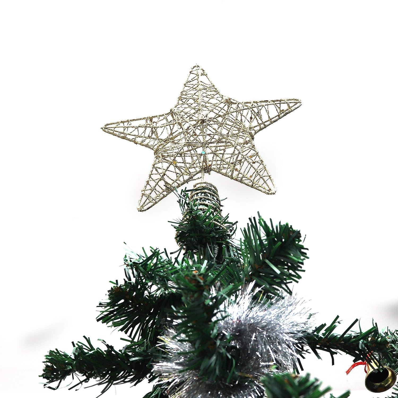 BELLE VOUS Decoracion Arbol Navidad - Adornos Árbol Navidad Coronar Arbol - 7