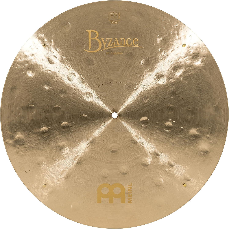 Meinl Cymbals B20Jcr Byzance 20-Inch Jazz Club Flat Ride Cymbal With Rivets