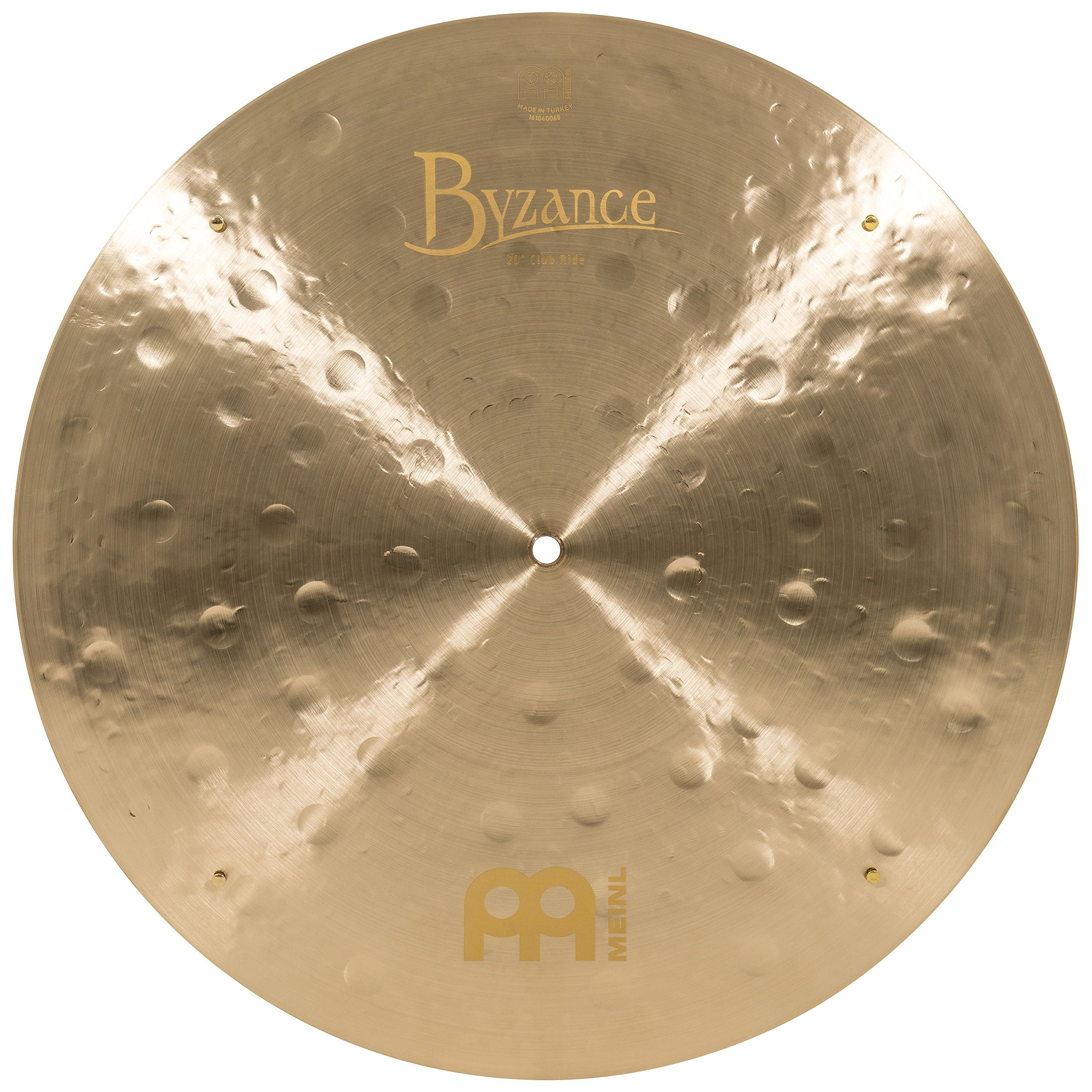 Meinl Cymbals B20JCR Byzance 20-Inch Jazz Club Flat Ride Cymbal with Rivets (VIDEO) by Meinl Cymbals