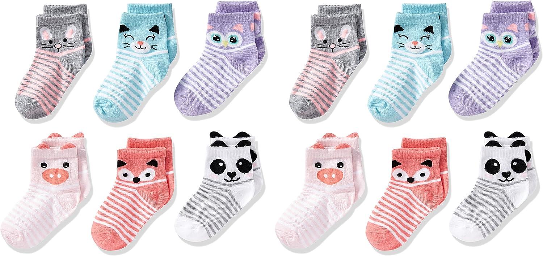 Cherokee Little Girls 12 Pack Shorty Socks: Clothing