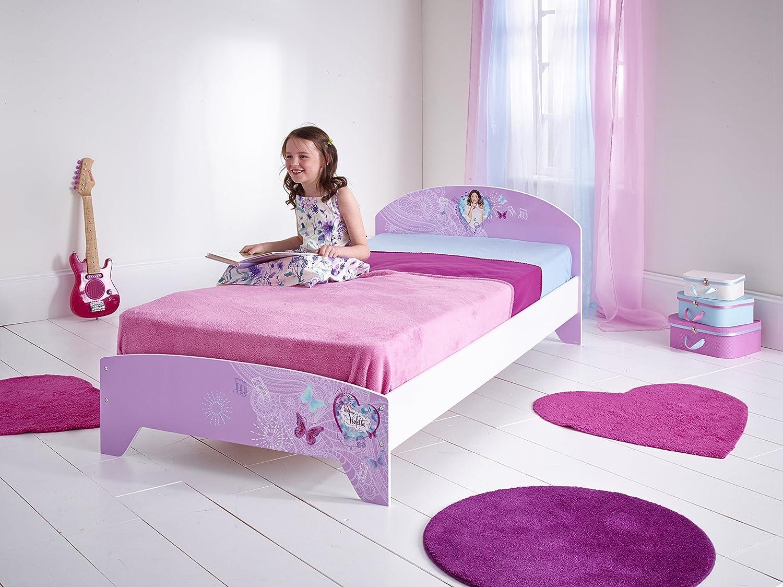 Worlds Apart 456VIO01EM Violetta Einzelbett für Kinder, 192 x 96 cm ...