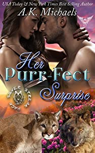Her Purr-fect Surprise: Paranormal Dating Agency (Silver Streak Wolf Pack Book 1)