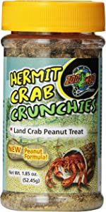 Zoo Med Hermit Crab Peanut Crunchies, 1.85-Ounce