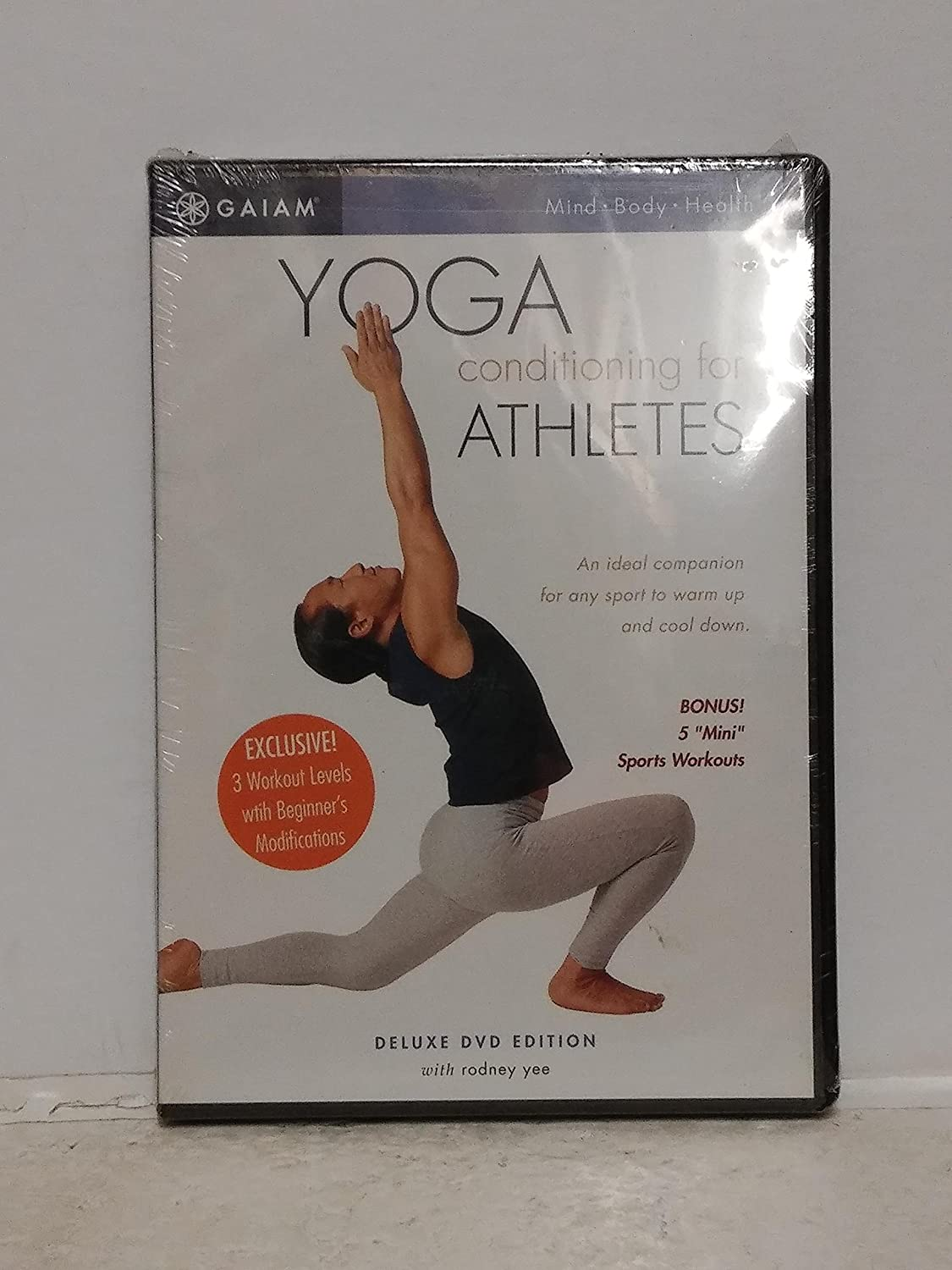 Yoga Conditioning for Athletes with Rodney Yee Deluxe DVD ...