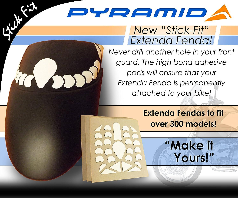 Front Mudguard Extension SF-056200 Triumph Sprint 1050ST Sprint 1050GT Stick Fit Extenda Fenda