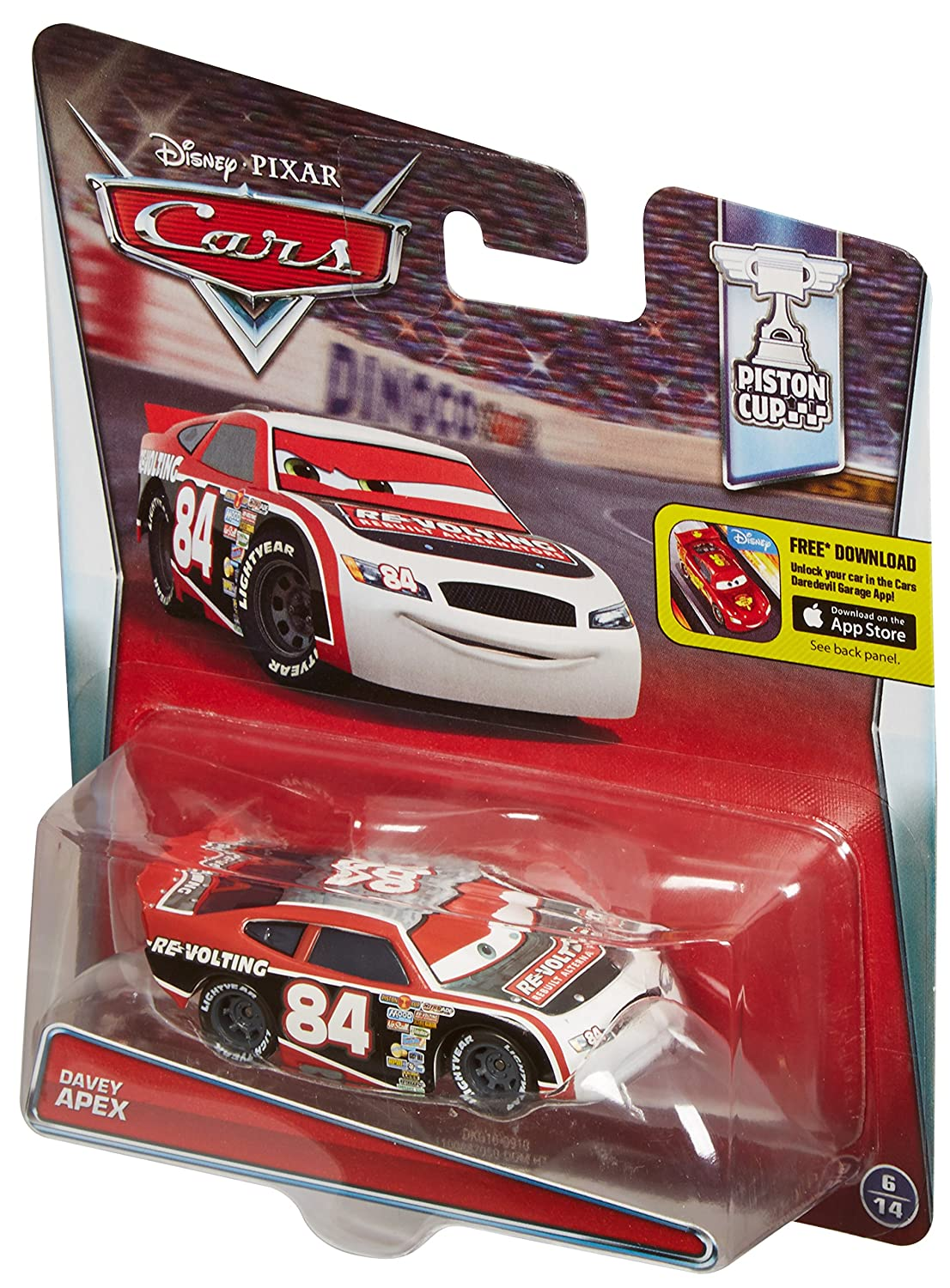 Disney/Pixar Cars Diecast Revolting #84 Vehicle by Mattel: Amazon.es: Juguetes y juegos