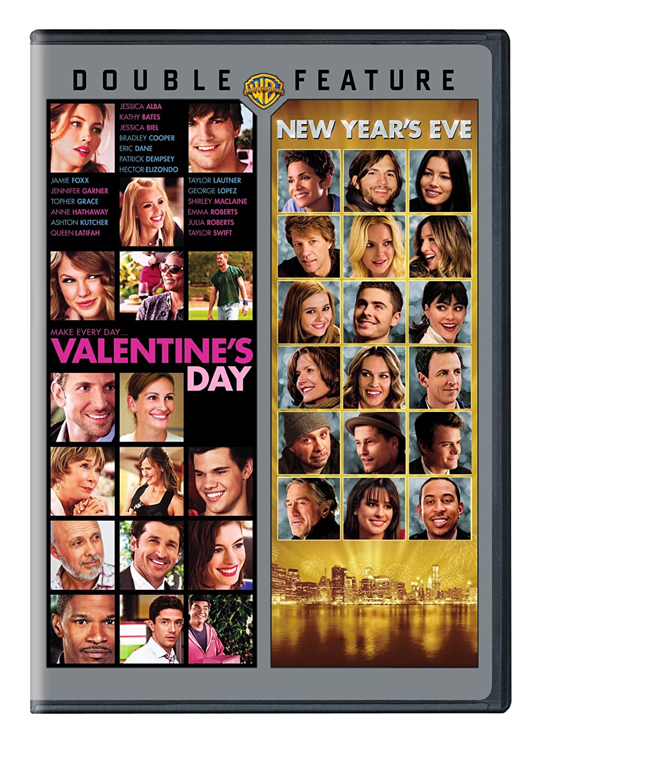 Amazon Com New Year S Eve Valentine S Day 2pk Various Movies Tv