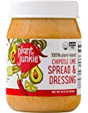 Plant Junkie Vegan, Plant-Based Avocado Oil Chipotle Lime Spread (15 Fluid Ounces)