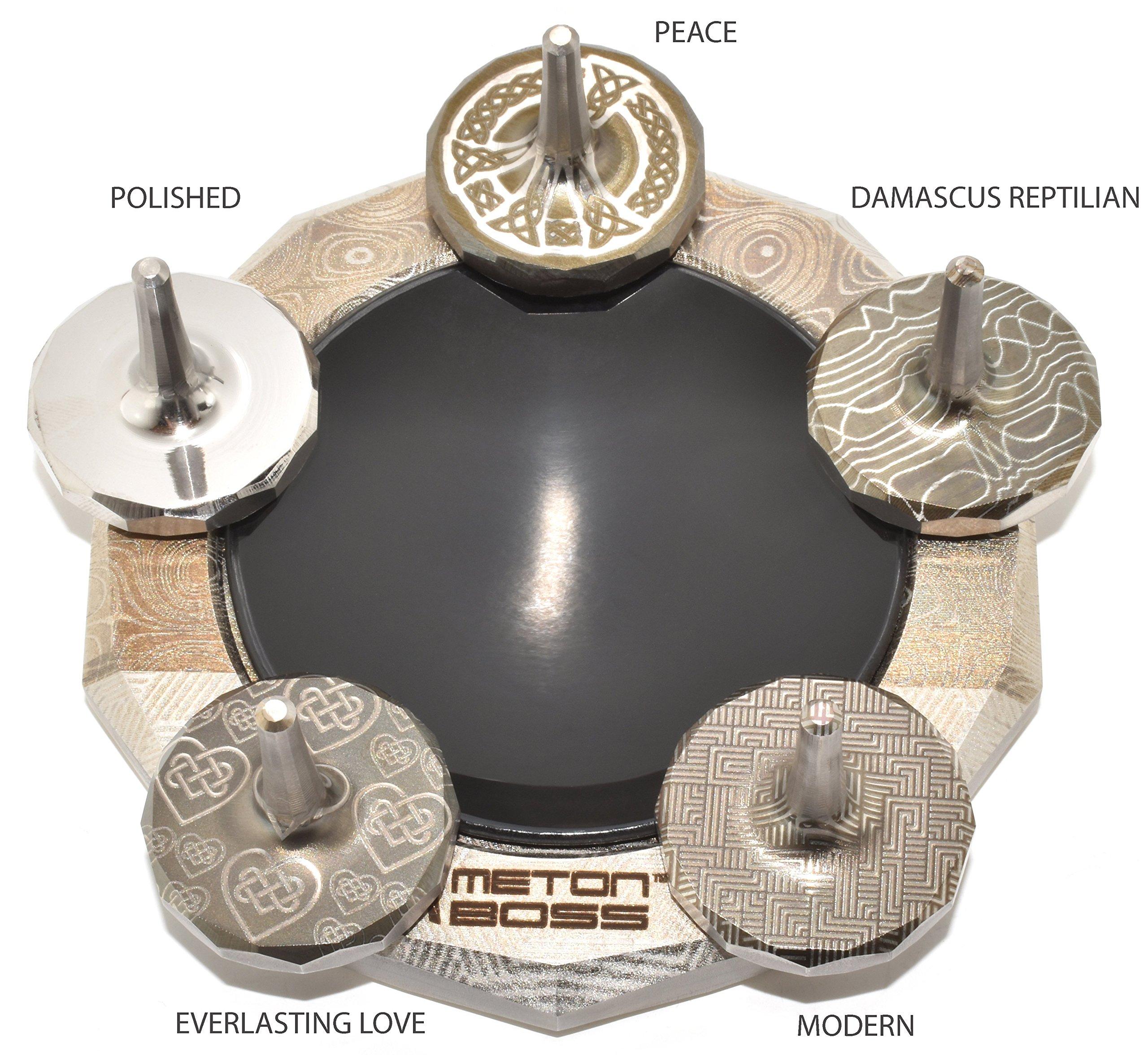 MetonBoss Nickel Top Spinner - Made with Nickel (Peace) by MetonBoss (Image #4)