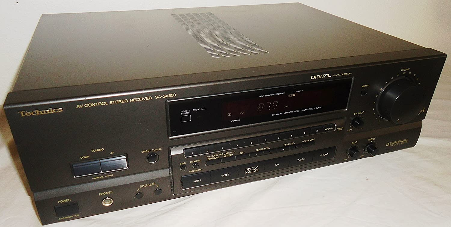 Technics Sa-GX350 AV Audio Video Control Center With AV