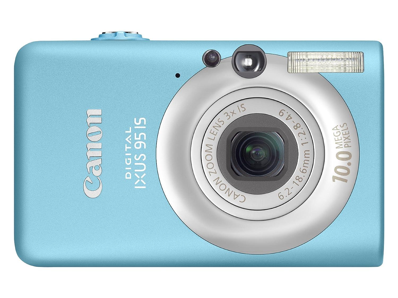 Canon Digital IXUS 95 IS Digital Camera - Blue 2.5: Amazon.co.uk: Camera &  Photo