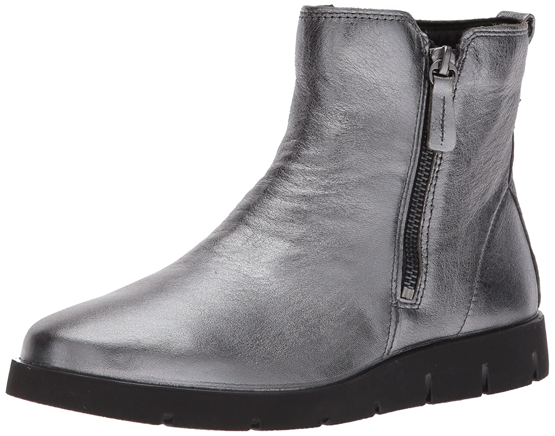 Dark Shadow ECCO shoes Women's Bella Double Zip Ankle Boot