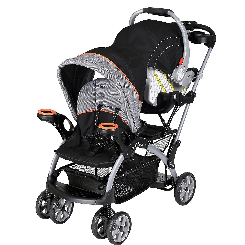 Amazon Baby Trend Sit N Stand Ultra Stroller Millennium Orange Baby