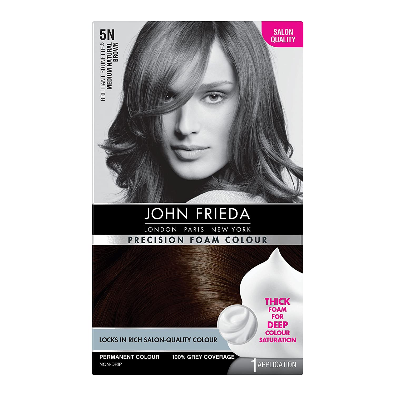 John Frieda Precision Foam Colour Hair Dye Number 5n Medium
