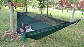 Outdoor Camping Hängematte Mit Moskitonetz Ultralight Parachute