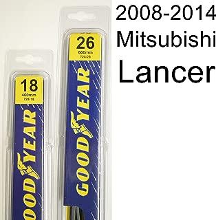 """product image for Mitsubishi Lancer (2008-2014) Wiper Blade Kit - Set Includes 26"""" (Driver Side), 18"""" (Passenger Side) (2 Blades Total)"""
