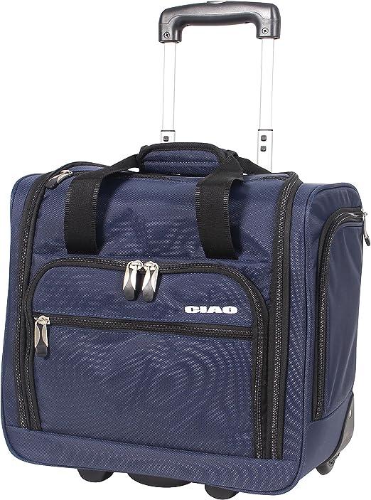 Ciao equipaje llevar en maleta con ruedas avión bolsa bajo el ...