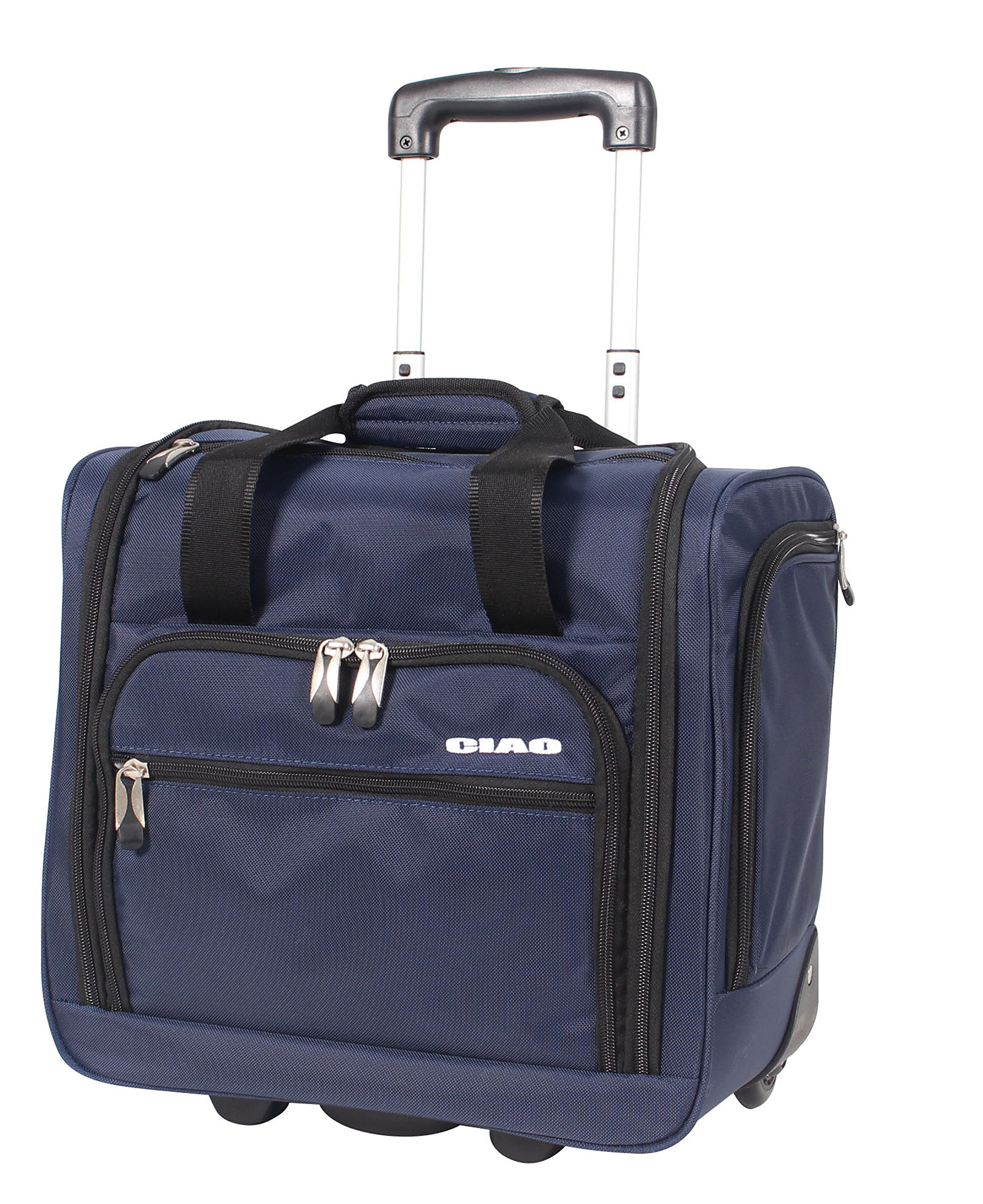 Ciao Carry On Wheeled Under The Seat Bag (Navy)