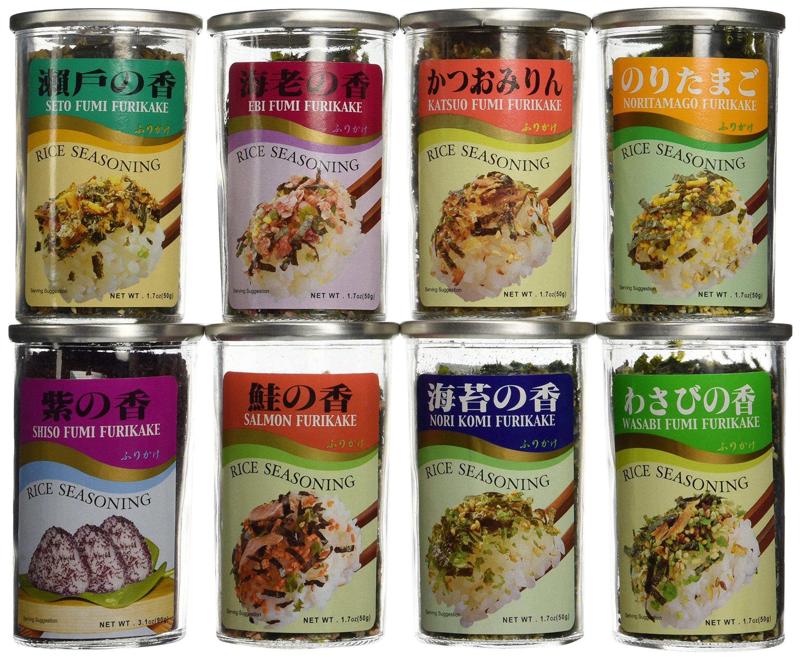 Rice Seasoning Furikake 8 Variety Furikake Set by JFC (Image #1)