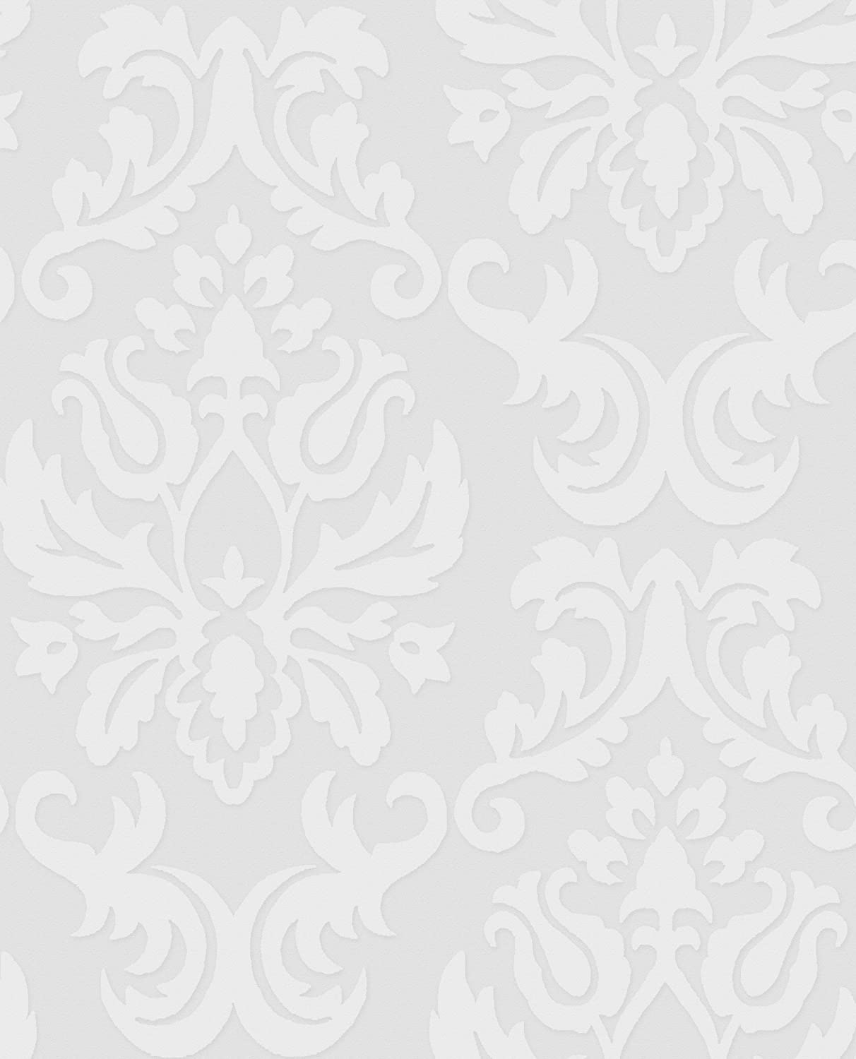 Graham and Brown 17773 Damask Wallpaper Wall Paper Amazoncom