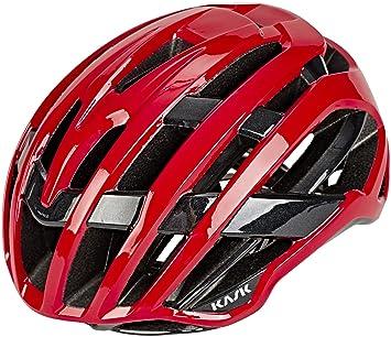 Kask Valegro - Casco de Bicicleta - Rojo Contorno de la Cabeza M | 52-