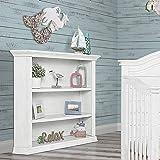 Evolur 8181-WW Mini Bookcase, Weathered White