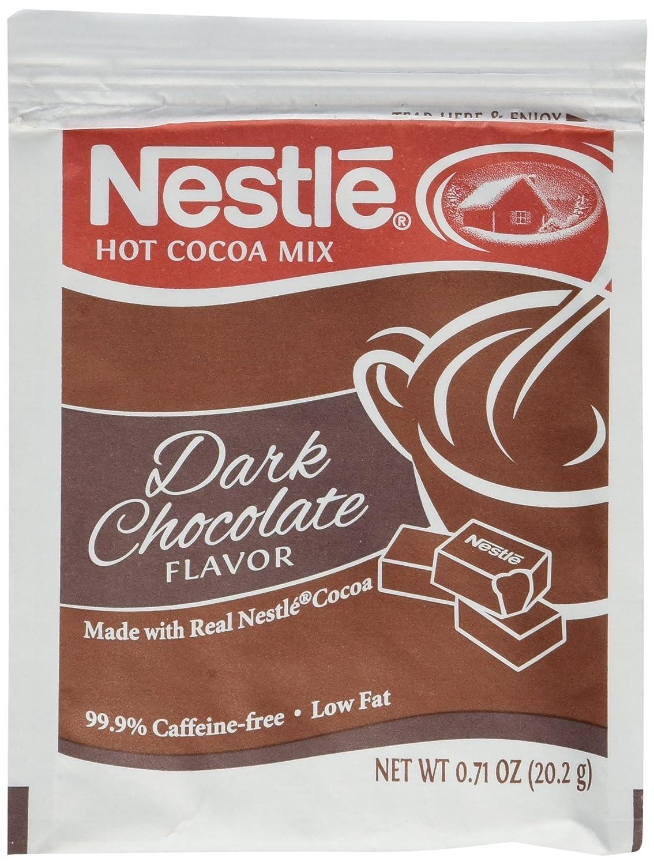 Amazon.com : Nestle Hot Cocoa Mix - Dark Chocolate - 50 ct ...