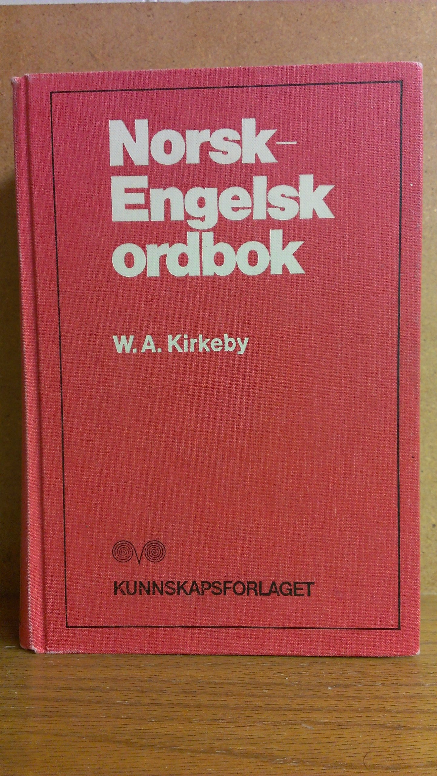 Norwegian English Dictionary, Haugen, E; Kirkeby, Willy A.