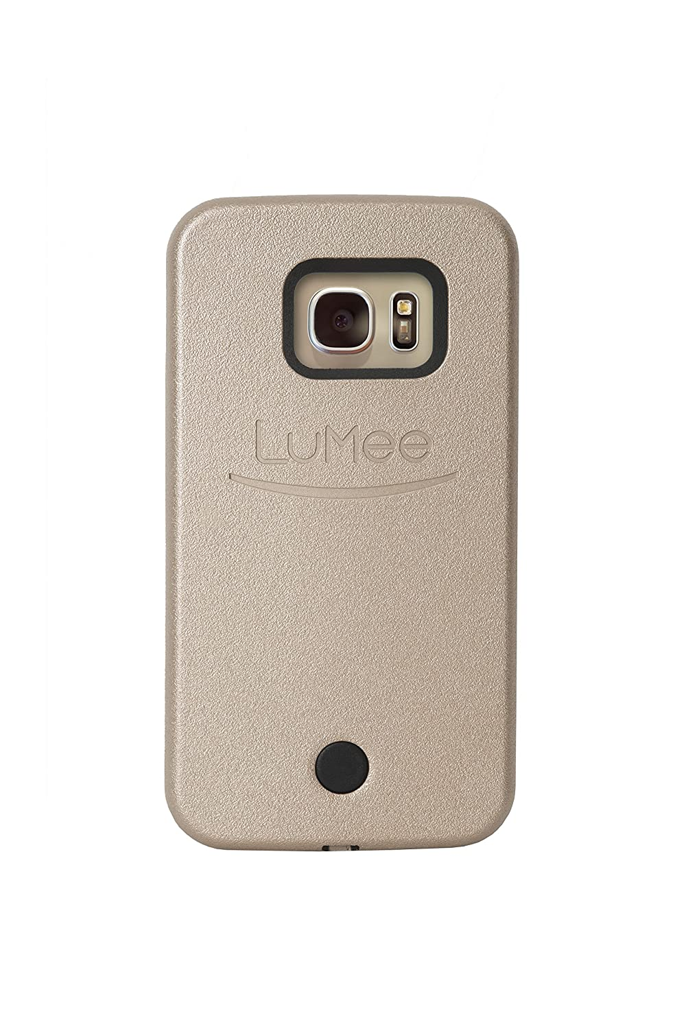 online store 0c7f7 ed80c LuMee, Illuminated Cell Phone Case for Samsung Galaxy S7 - Gold
