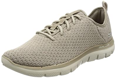 Skechers Men's Flex Advantage 2.0 Cravy Training Sneaker,Taupe,US 10.5 M