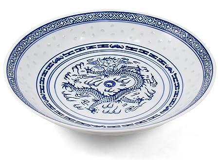 White Porcelain Blue Dragon Soup Plates Set of 4  sc 1 st  Amazon UK & White Porcelain Blue Dragon Soup Plates Set of 4: Amazon.co.uk ...
