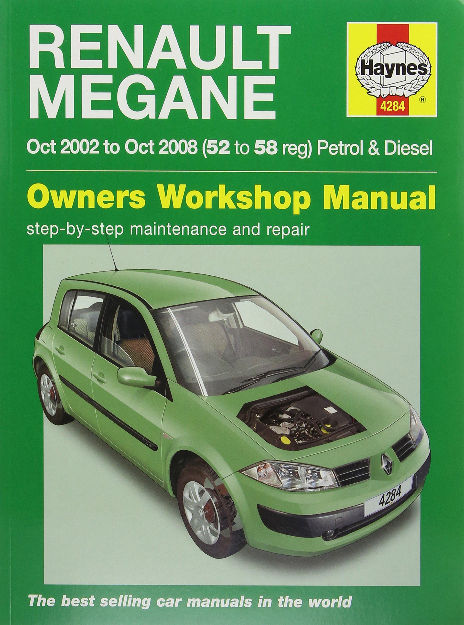 haynes 4284 service and repair workshop manual amazon co uk rh amazon co uk repair manual renault megane 2 workshop manual renault scenic 2