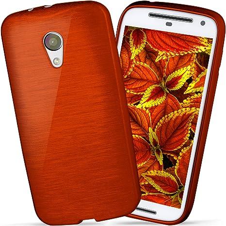 OneFlow Funda Protectora Funda Motorola Moto G (2.Generation) Carcasa Silicona TPU 1,5mm | Accesorios Cubierta protección móvil | Funda móvil ...