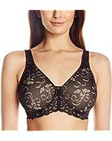 Lilyette Bali Women's Beautiful Support Lace Minimizer