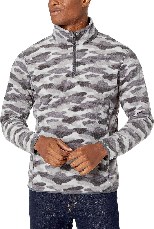 Essentials Quarter-Zip Polar Fleece Jacket Hombre