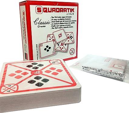 SQUADRATIK BARAJA DE Cartas: Amazon.es: Juguetes y juegos