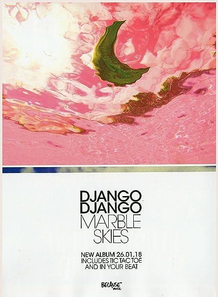 Django Django - Marble Skies Album 2018 Mini Poster - 40 5