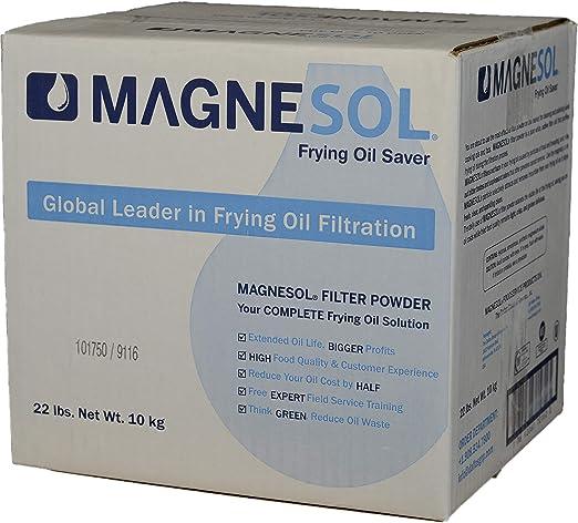 Amazon.com: Magnesol Fryer Filtro en polvo | Dallas Group ...