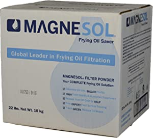 Dallas Group | 1 x 22 lb Box Magnesol XL Fryer Filter Powder | Item 700162 | Deep Fryer FryPowder | Save Fryer Oil, Extend Oil Life, Fry Oil Cleaner, (1 x 22 lb box) (Each)