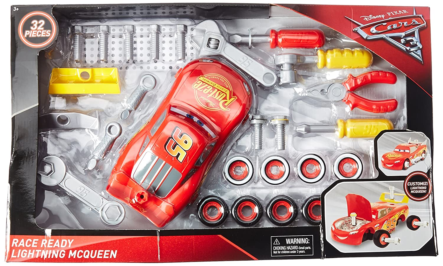 CARS 3 Just Play Transforming McQueen Tool Kit 20030