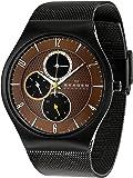 Skagen Men's SK806XLTBD Titanium Brown Dial Watch