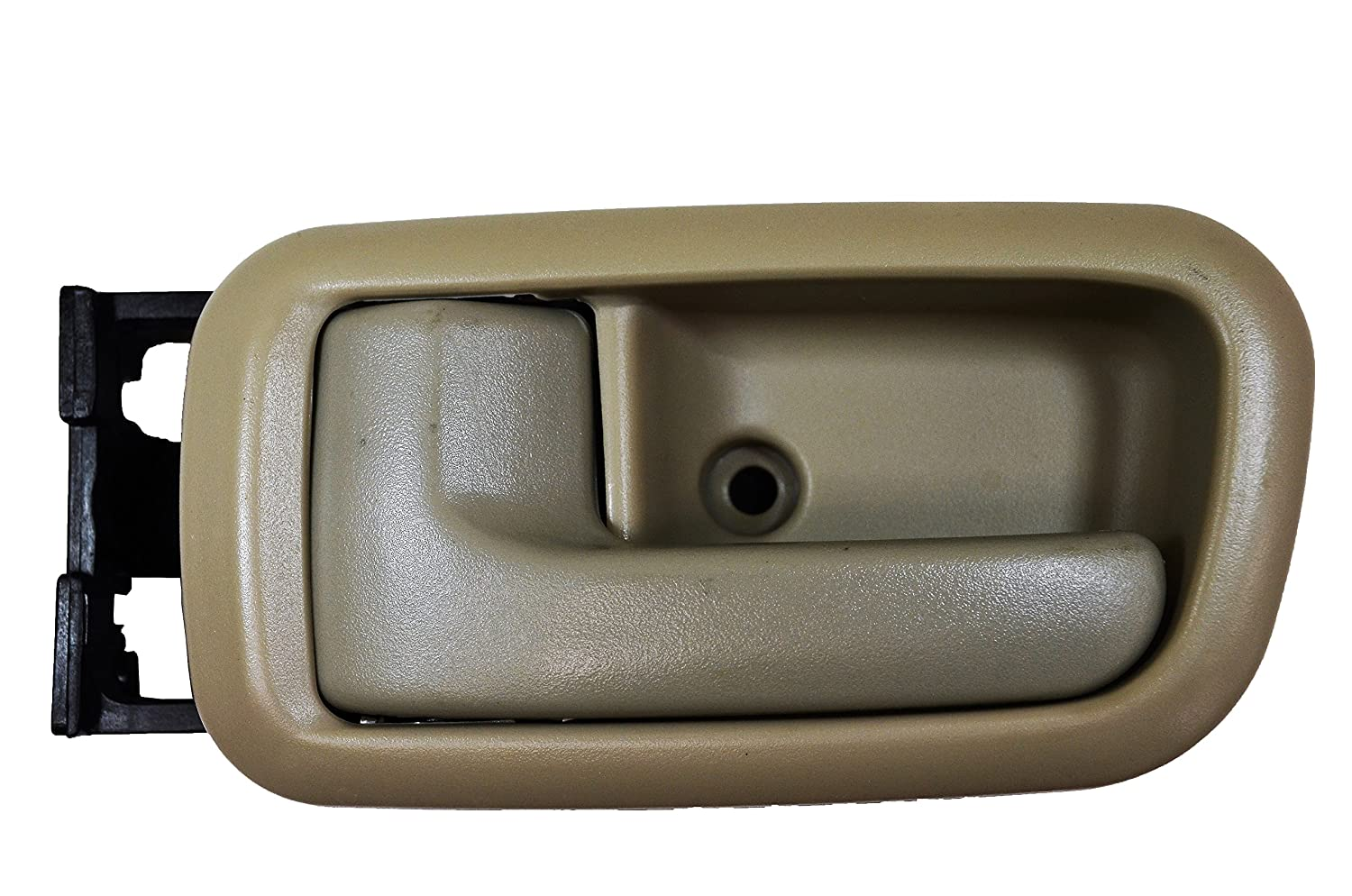 Beige PT Auto Warehouse TO-2950E-RLS Inside Interior Inner Door Handle//Trim - Extended Cabs Driver Side Rear Fawn